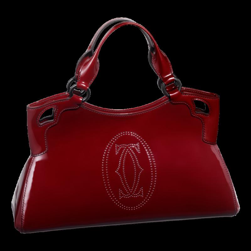 Red Women Bag PNG Image