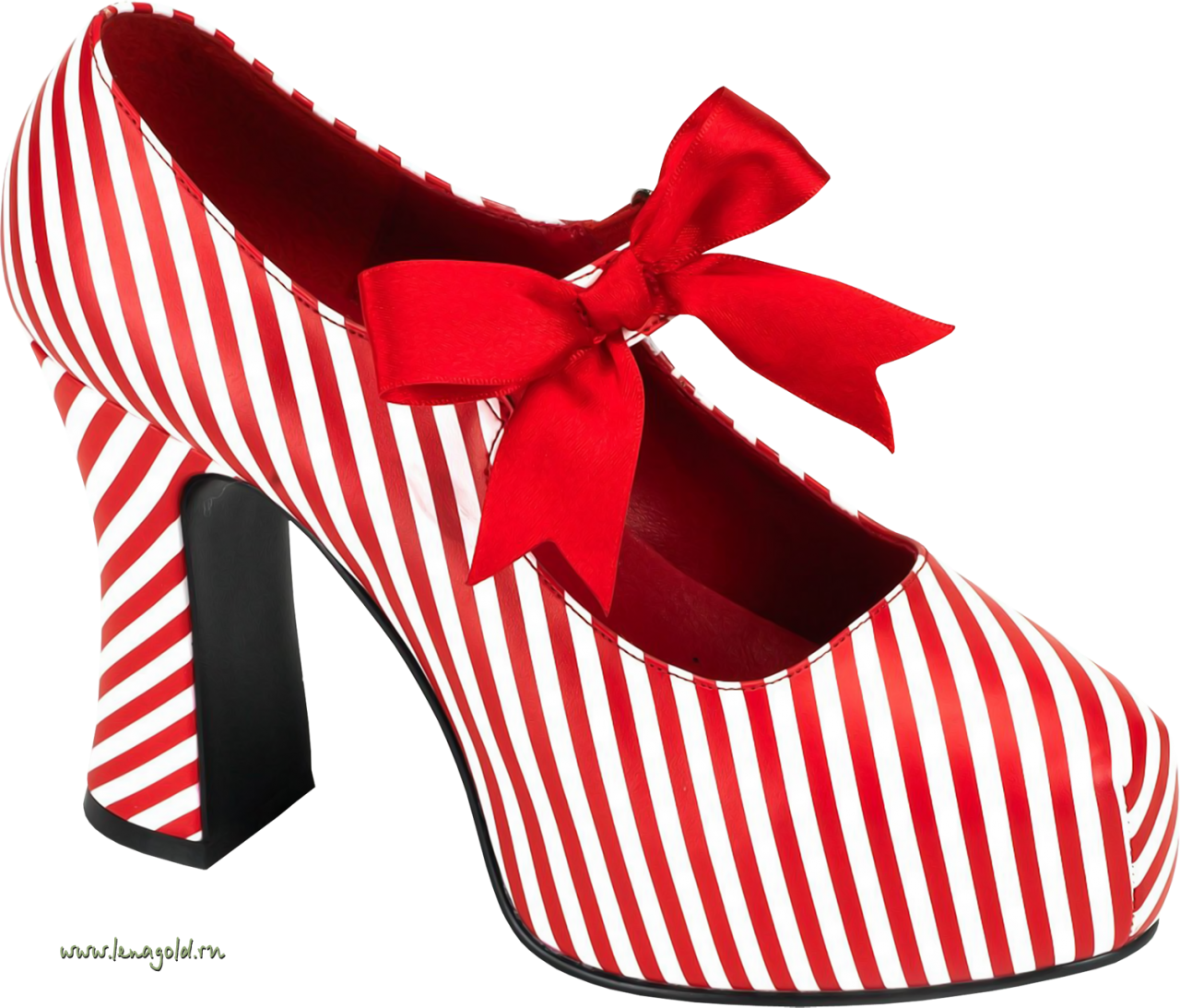 Red Women Shoe PNG Image