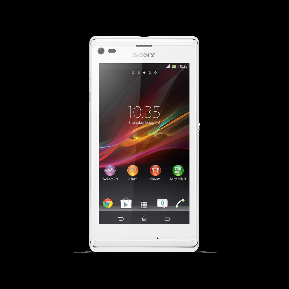 Retro Sony Smartphone PNG Image