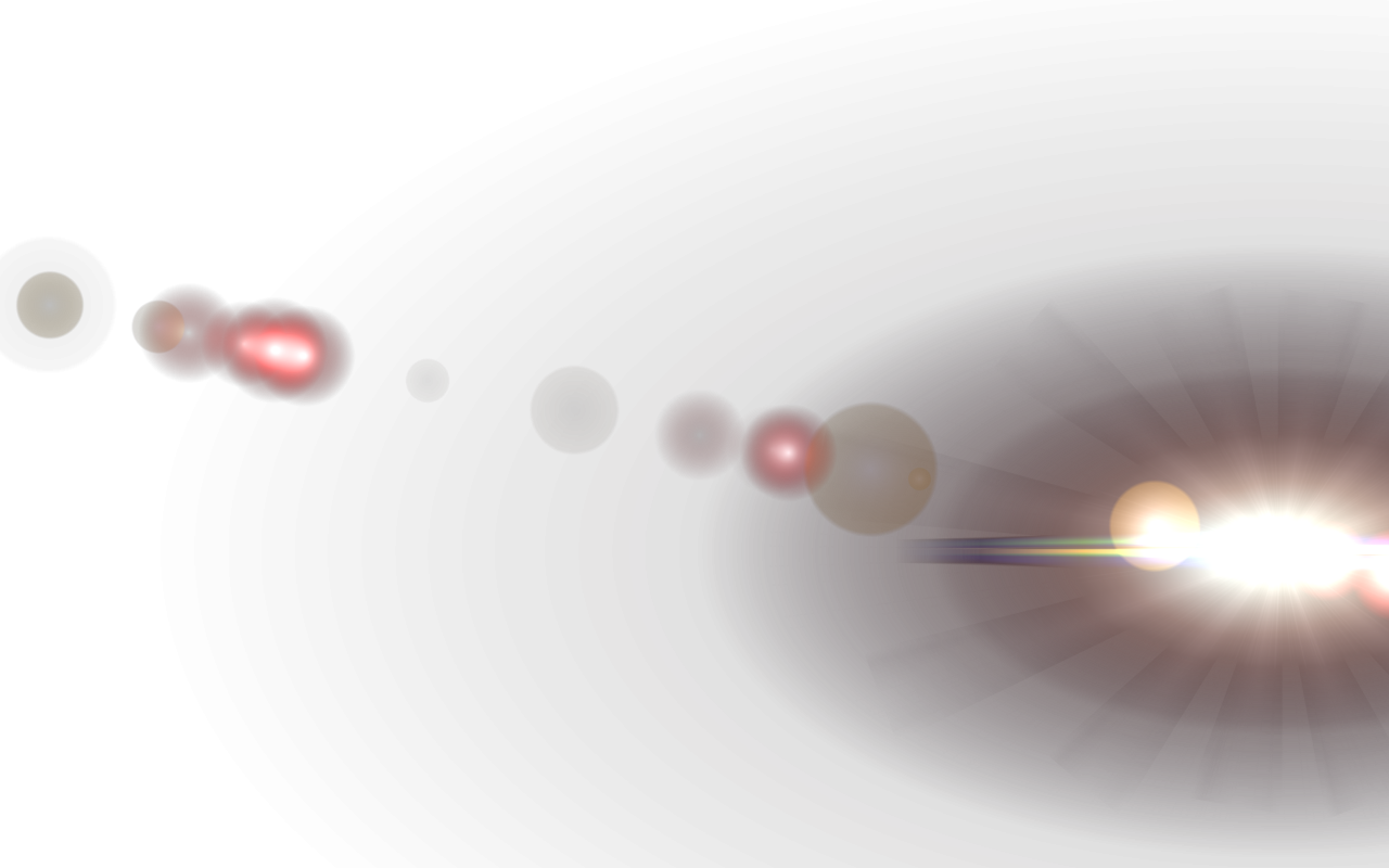 Right Side Lens Flare PNG Image