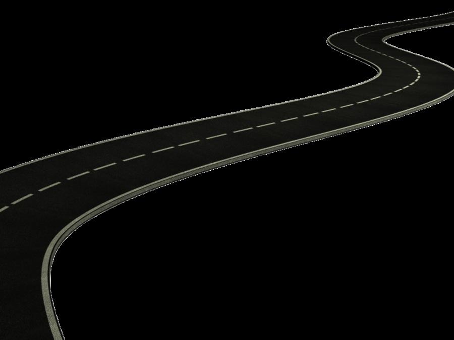 Road   High Way PNG Image