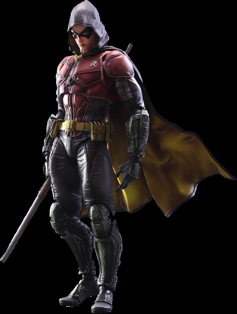 Robin Arkham Knight PNG Image