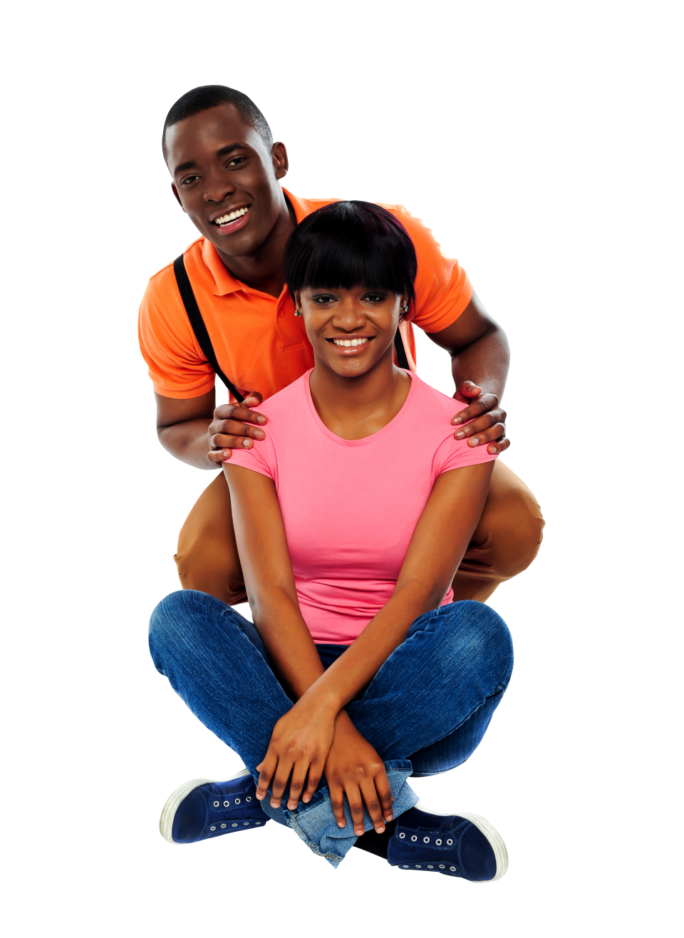 Romantic Couple PNG Image