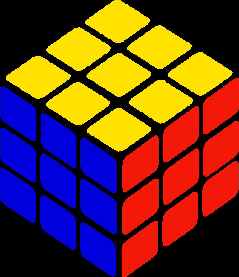 Rubik's Cube PNG Image