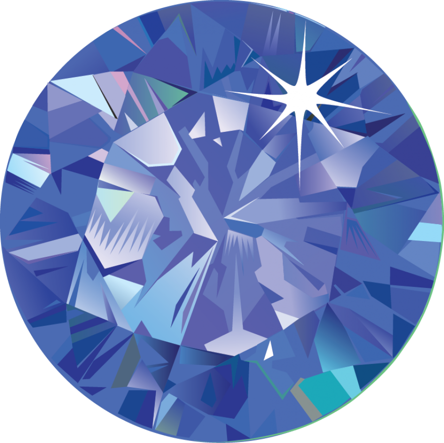 Sapphire | Gem | Stone PNG Image