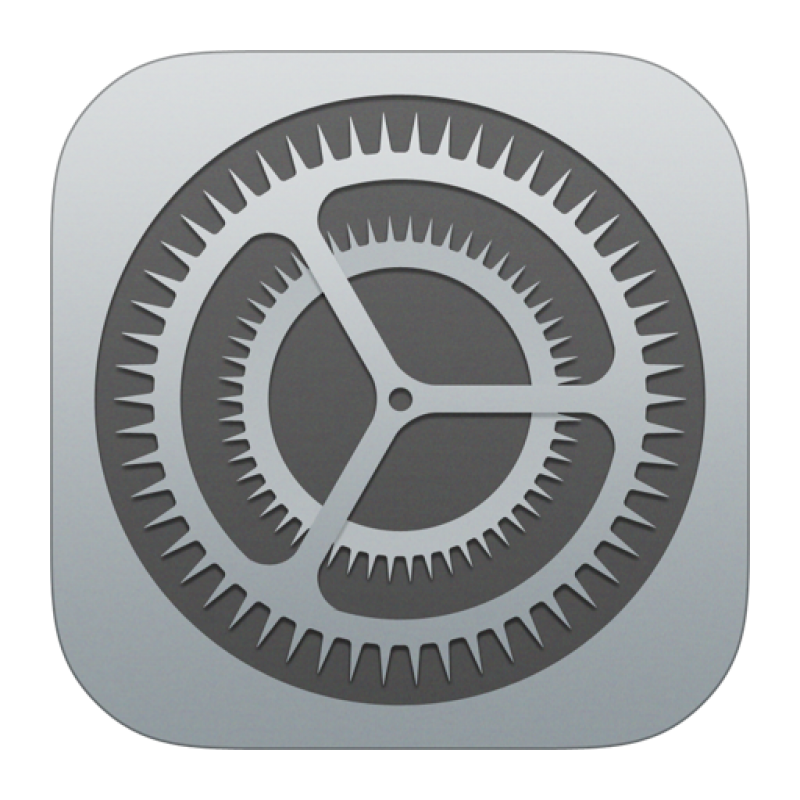 Settings Icon iOS 7 PNG Image - PurePNG | Free transparent