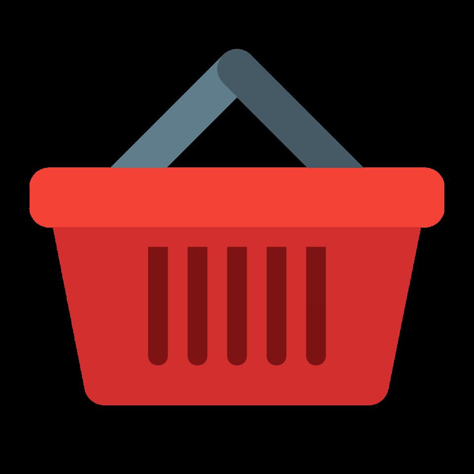 Shopping Basket PNG Image