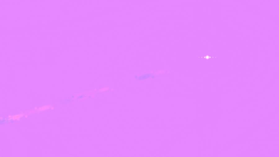 Side Purple Lens Flare PNG Image