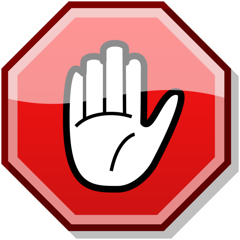 Sign Stop PNG Image