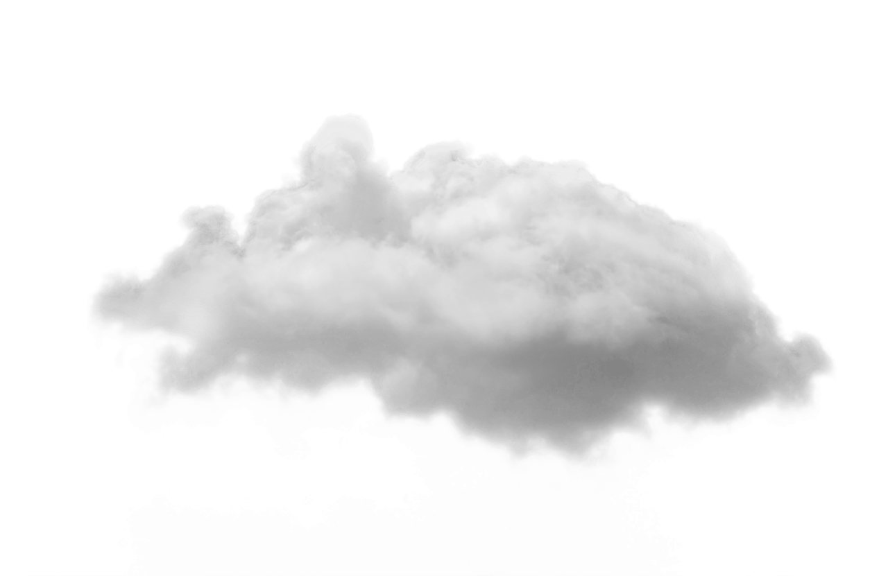 Small White Cloud PNG Image