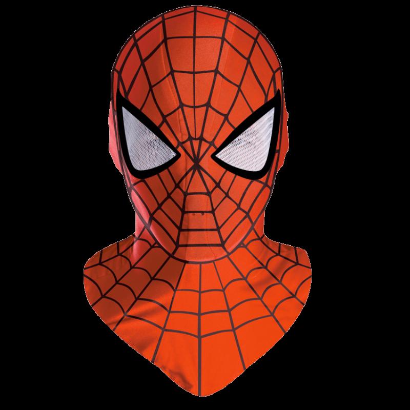 Spider-Man Mask PNG Image