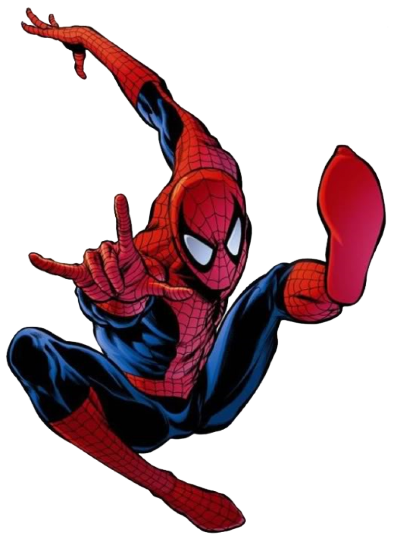 Spiderman Comic PNG Image