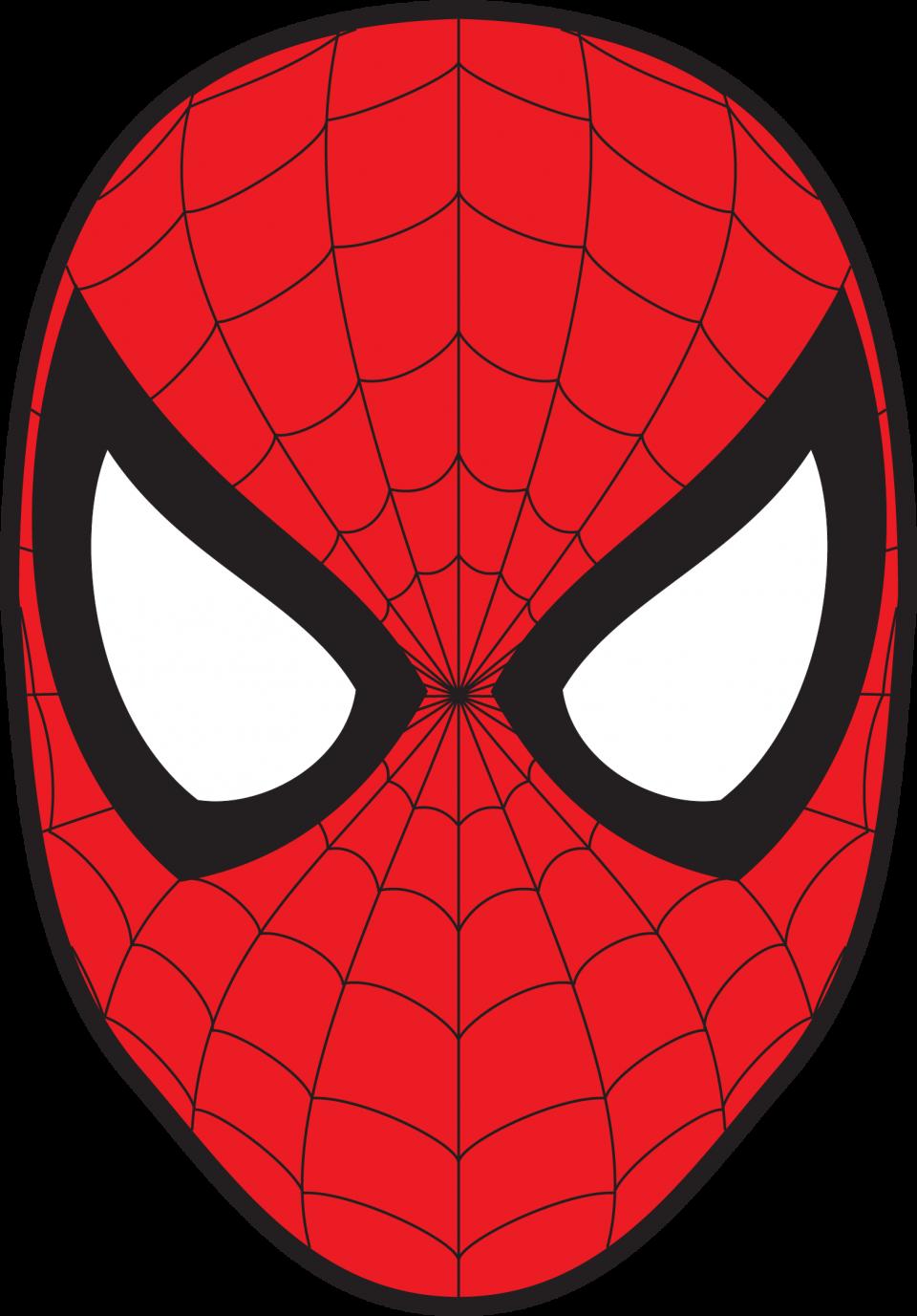 Spidey Mask PNG Image