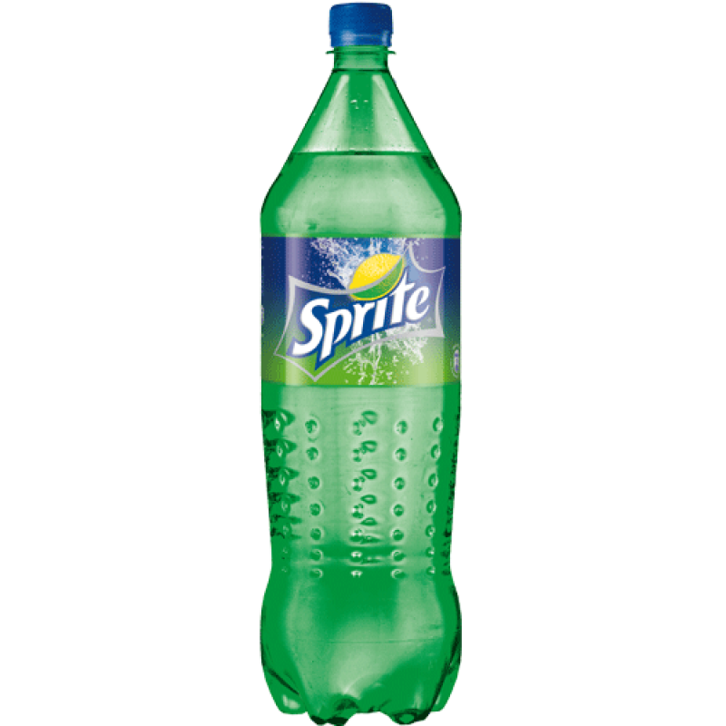 1.5 L Sprite in a Plastic Bottle PNG Image