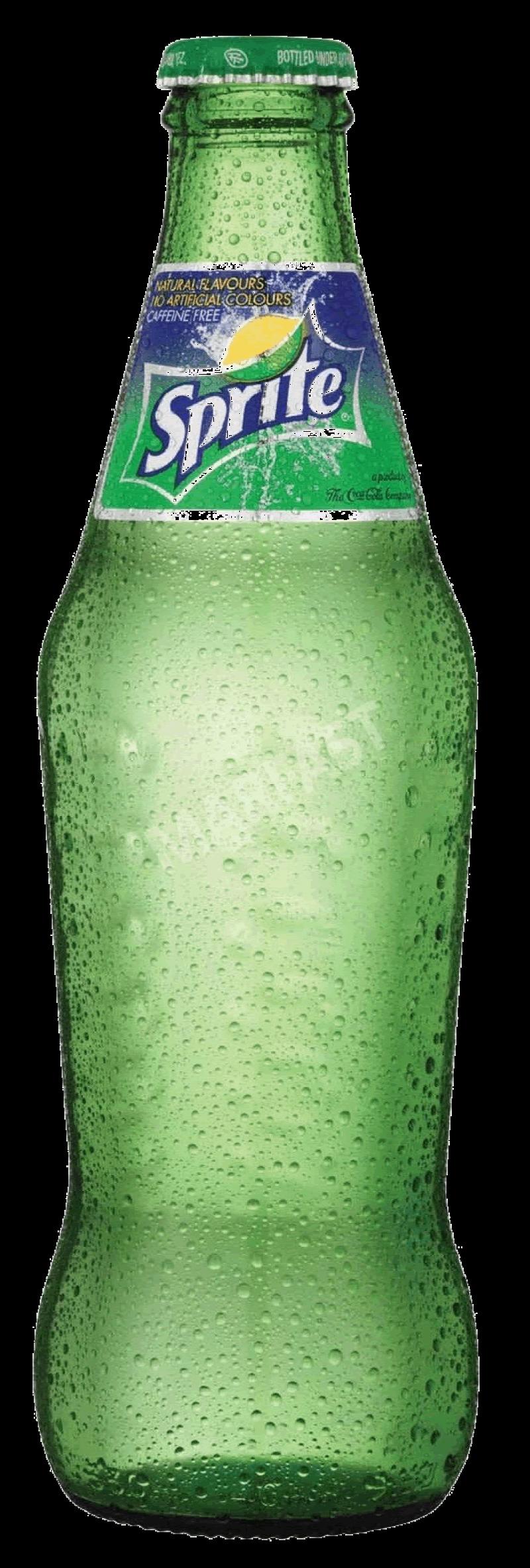 Sprite in a Glas Bottle PNG Image