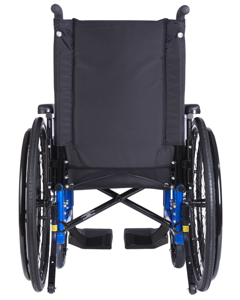 Steel Wheelchair PNG Image