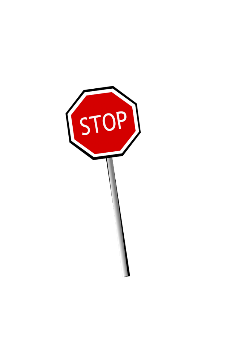 Stop Sign PNG Image