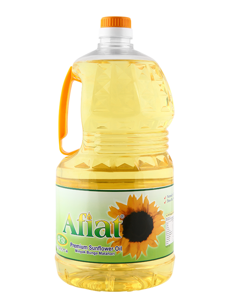 Afiat Sunflower Oil Canister PNG Image