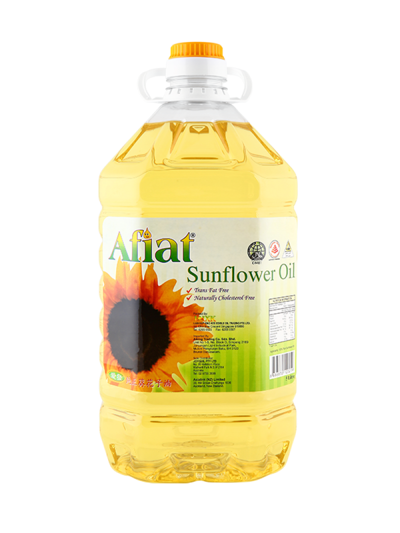 Afiat Sunflower Oil PNG Image