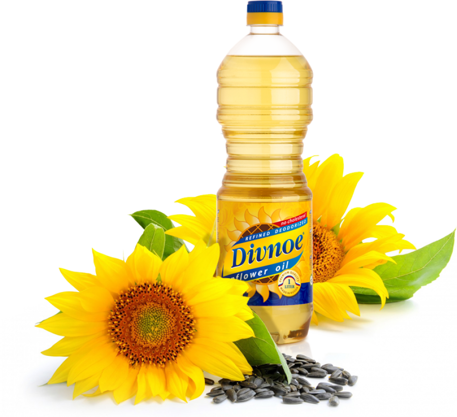 Sunflower Oil PNG Image