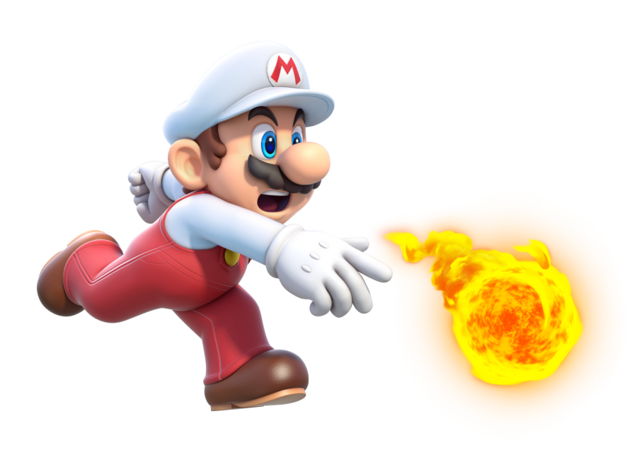 Super Mario Fire PNG Image