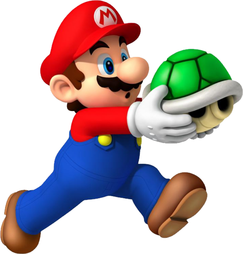 Super Mario Running PNG Image