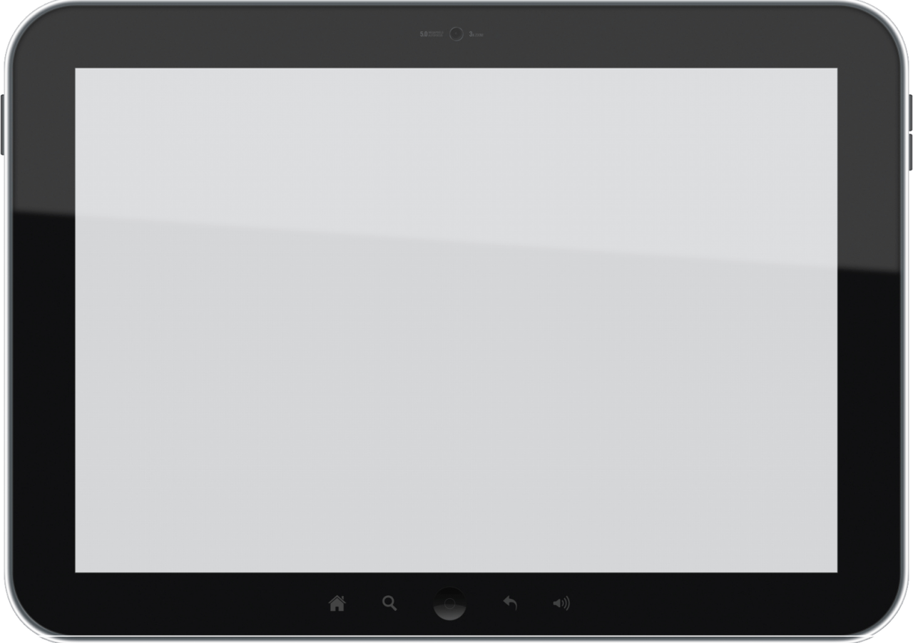 Tablet  Video Frame PNG Image