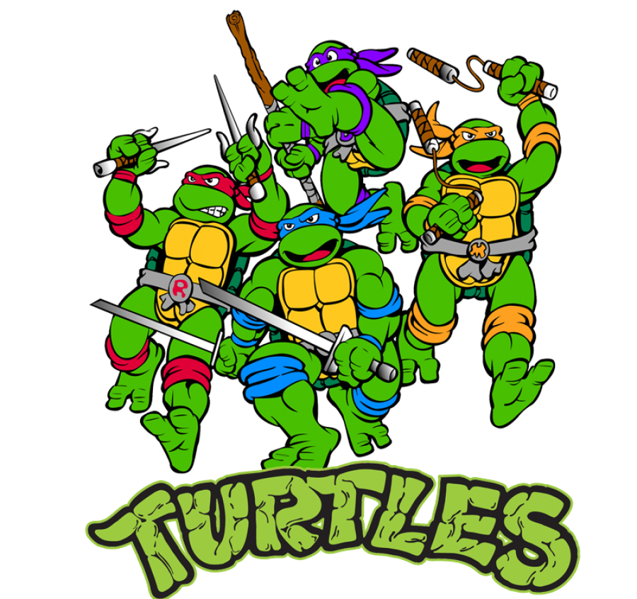 Teenage Mutant Ninja Turtle's PNG Image