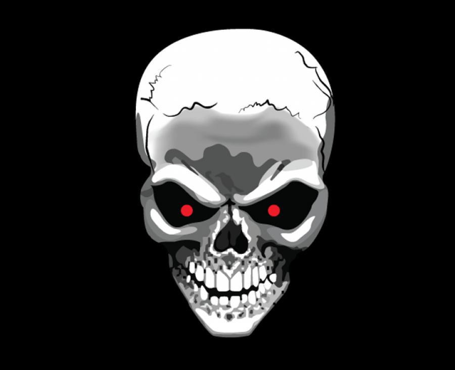 Terminator Skull PNG Image