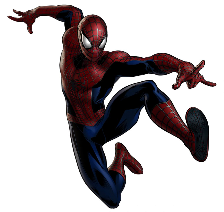 The Amazing SpiderMan PNG Image