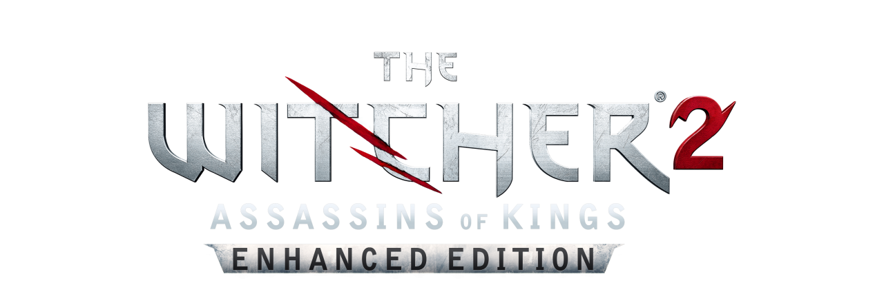 The Witcher 2 Logo PNG Image