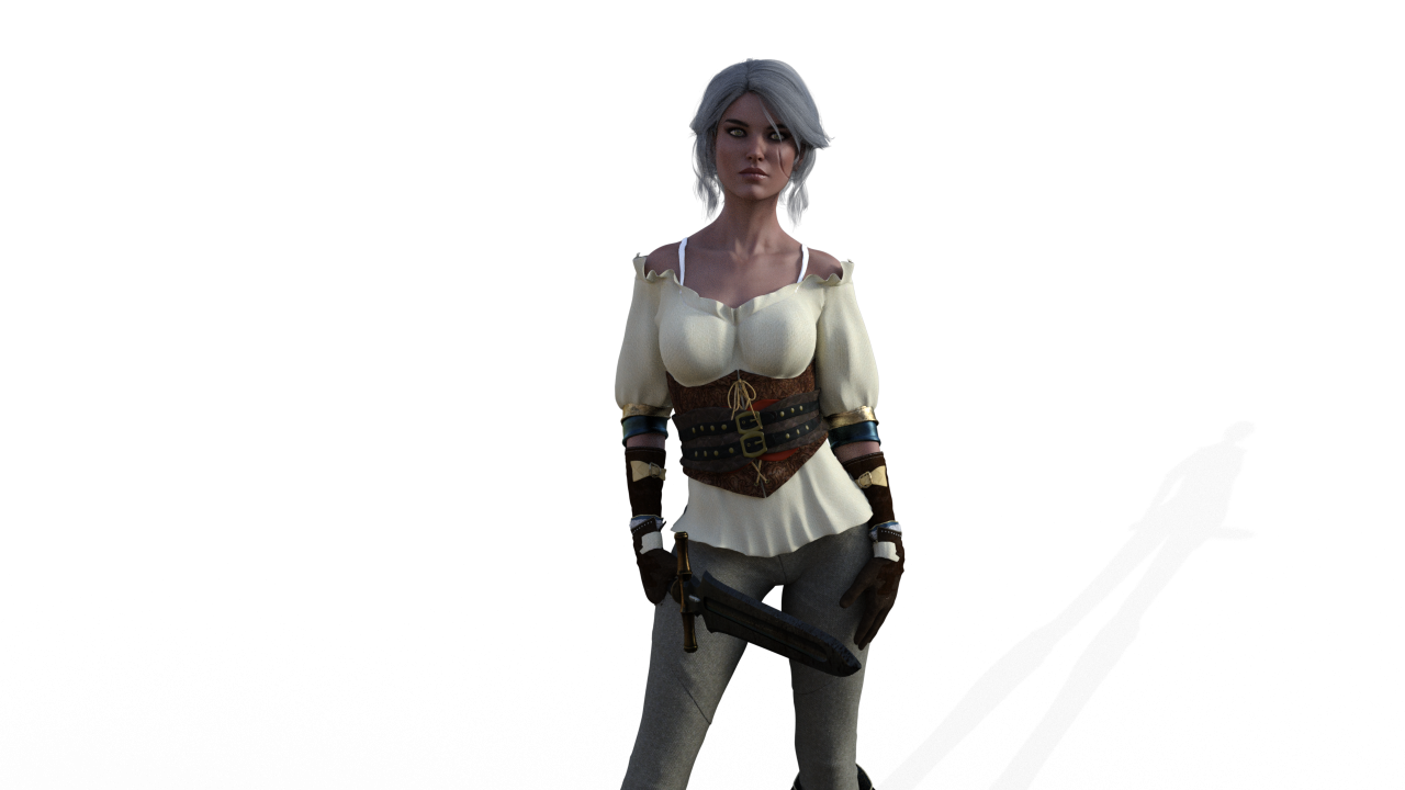 The Witcher 3 Ciri PNG Image