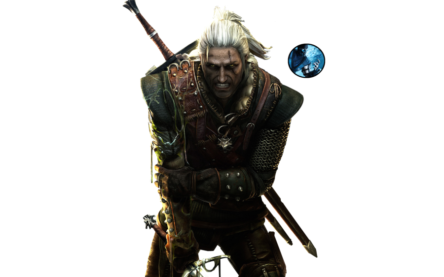 The Witcher 3  Geralt PNG Image