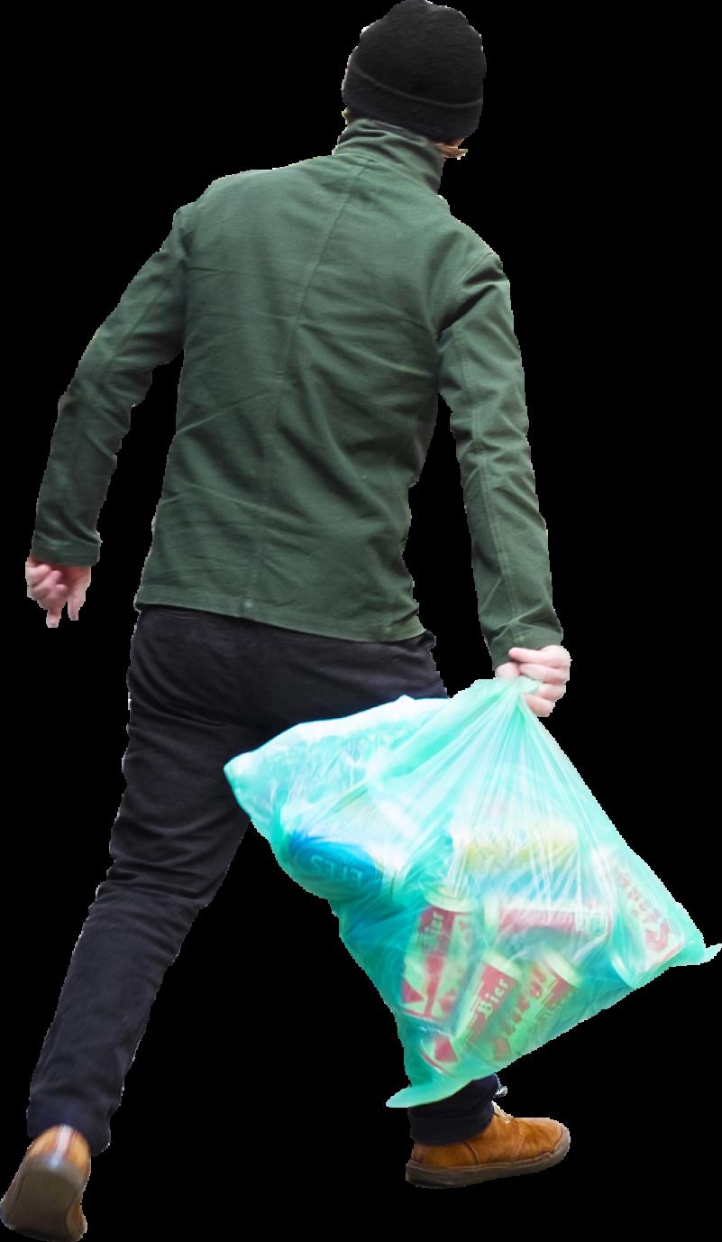 Trash Bag PNG Image