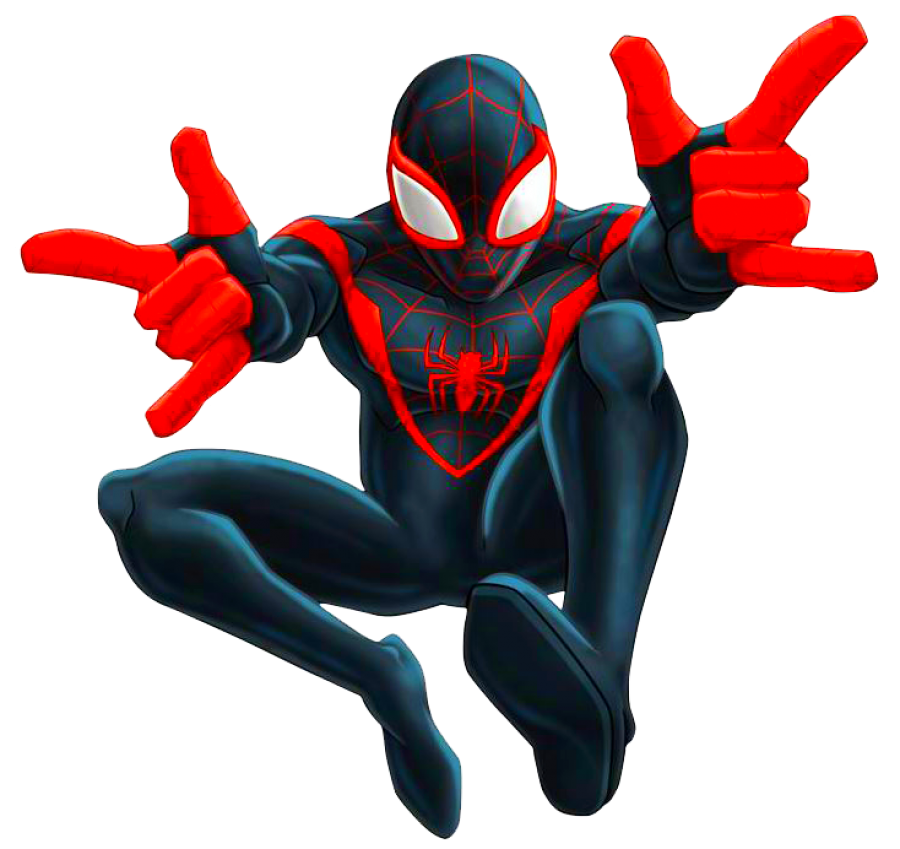 Ultimate SpiderMan PNG Image