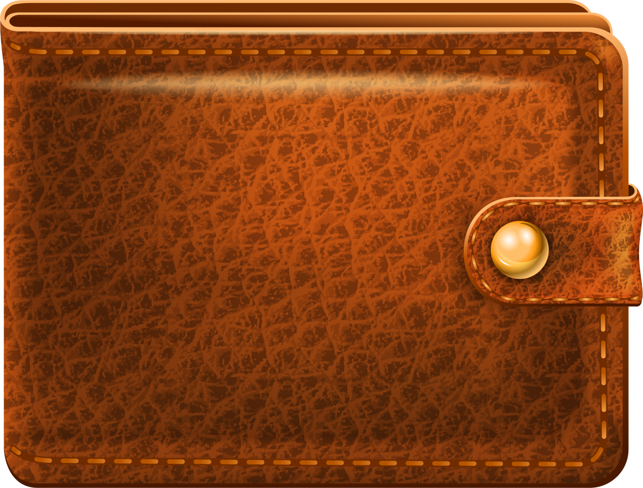 Wallet With Coins PNG Image