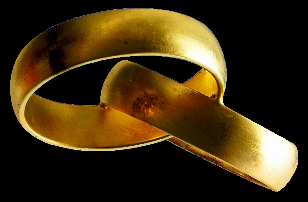 Wedding Rings PNG Image