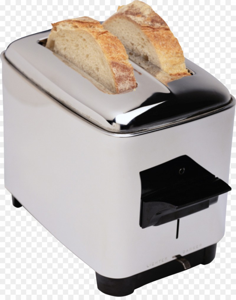 White Toaster PNG Image