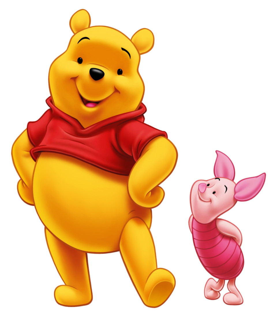 Winnie Pooh And Piglet PNG Image - PurePNG | Free ...