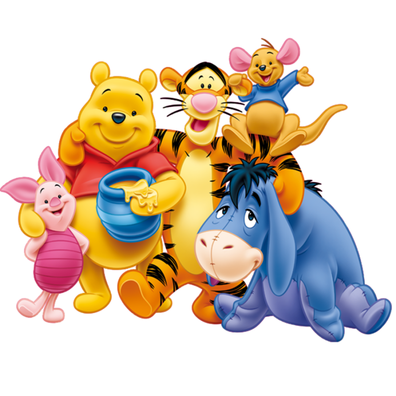 Winnie The Pooh All PNG Image - PurePNG | Free transparent ...