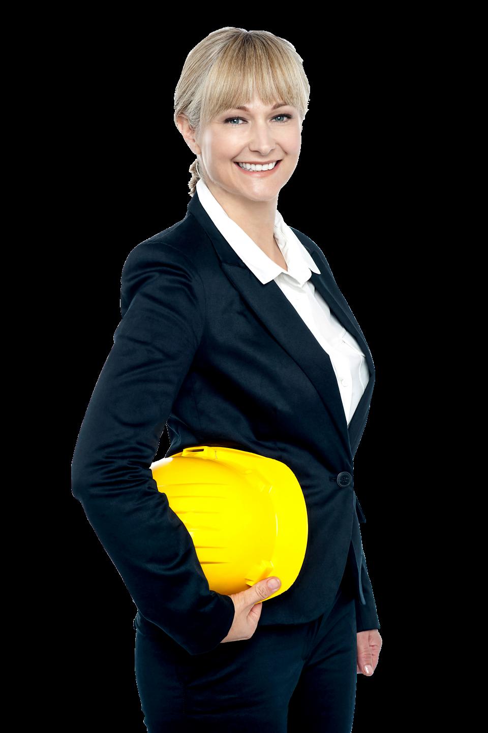Women Architect PNG Image