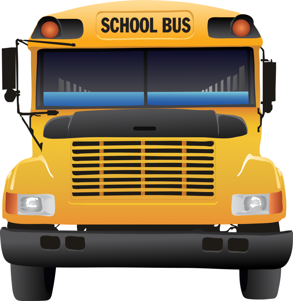 Yellow School Bus PNG Image