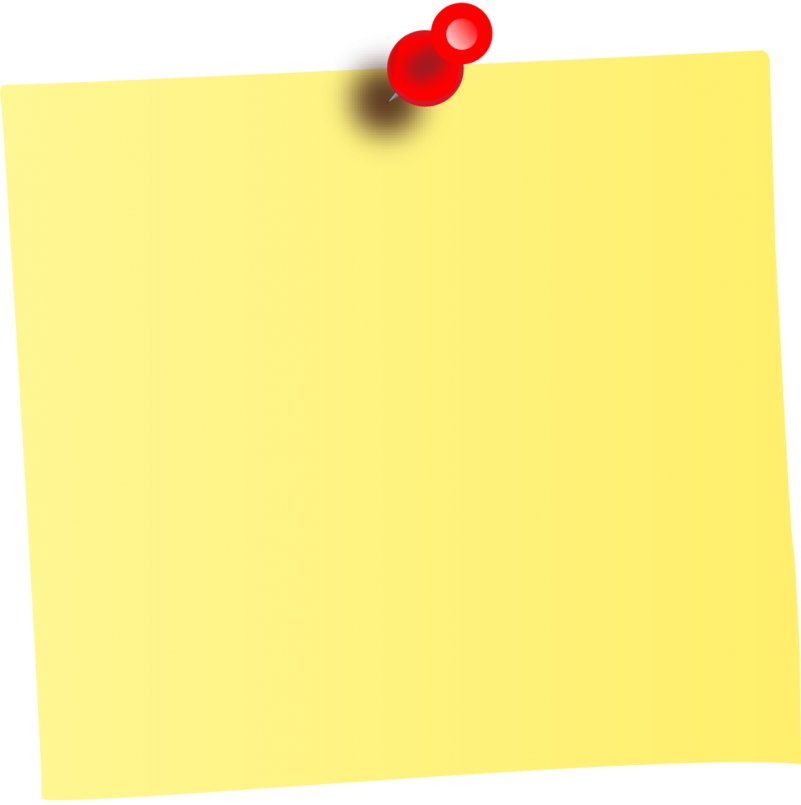 Yellow Sticky Notes PNG Image - PurePNG   Free transparent ...