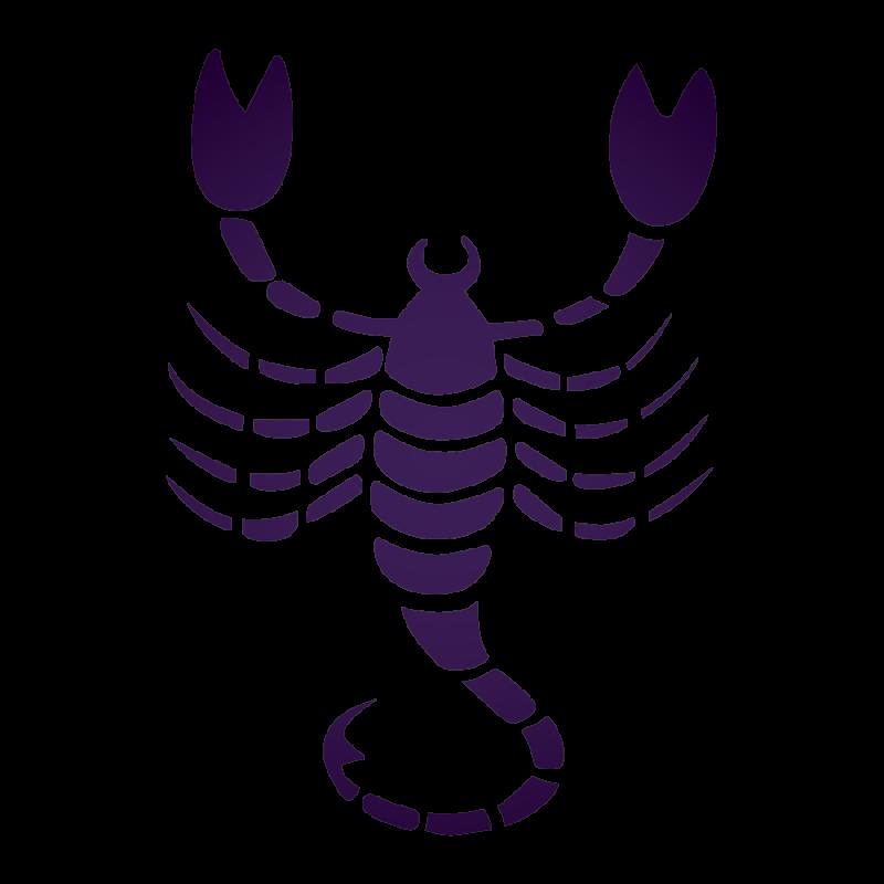 Purple Scorpio PNG Image