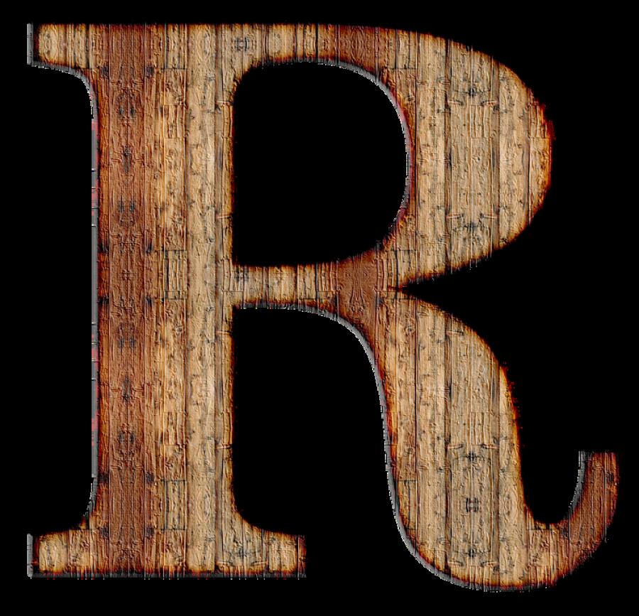 R Letter PNG Image