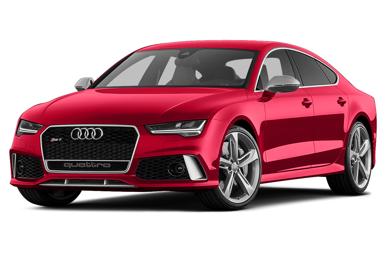 Red Edition  Audi Luxury Car PNG Image