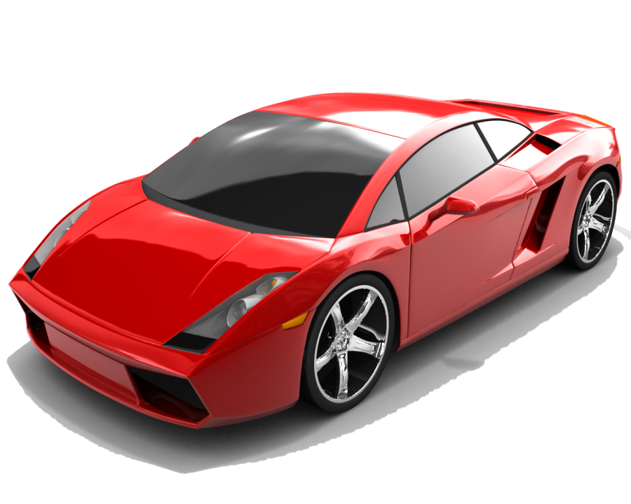 Red Edition  Lamborghini Gallardo Luxury Car PNG Image
