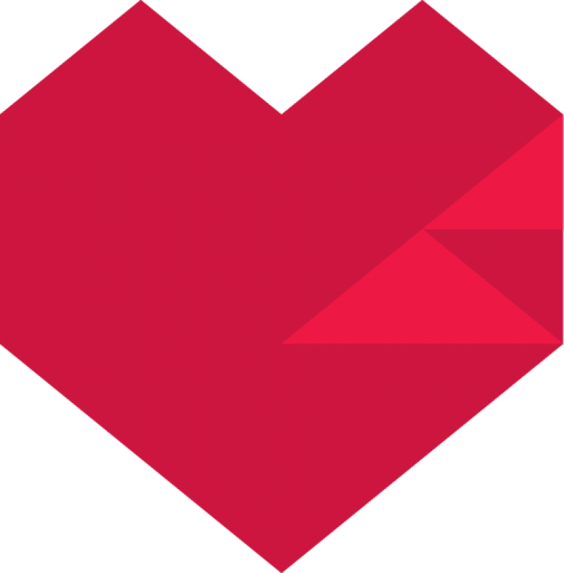 Red Pixel Heart PNG Image - PurePNG