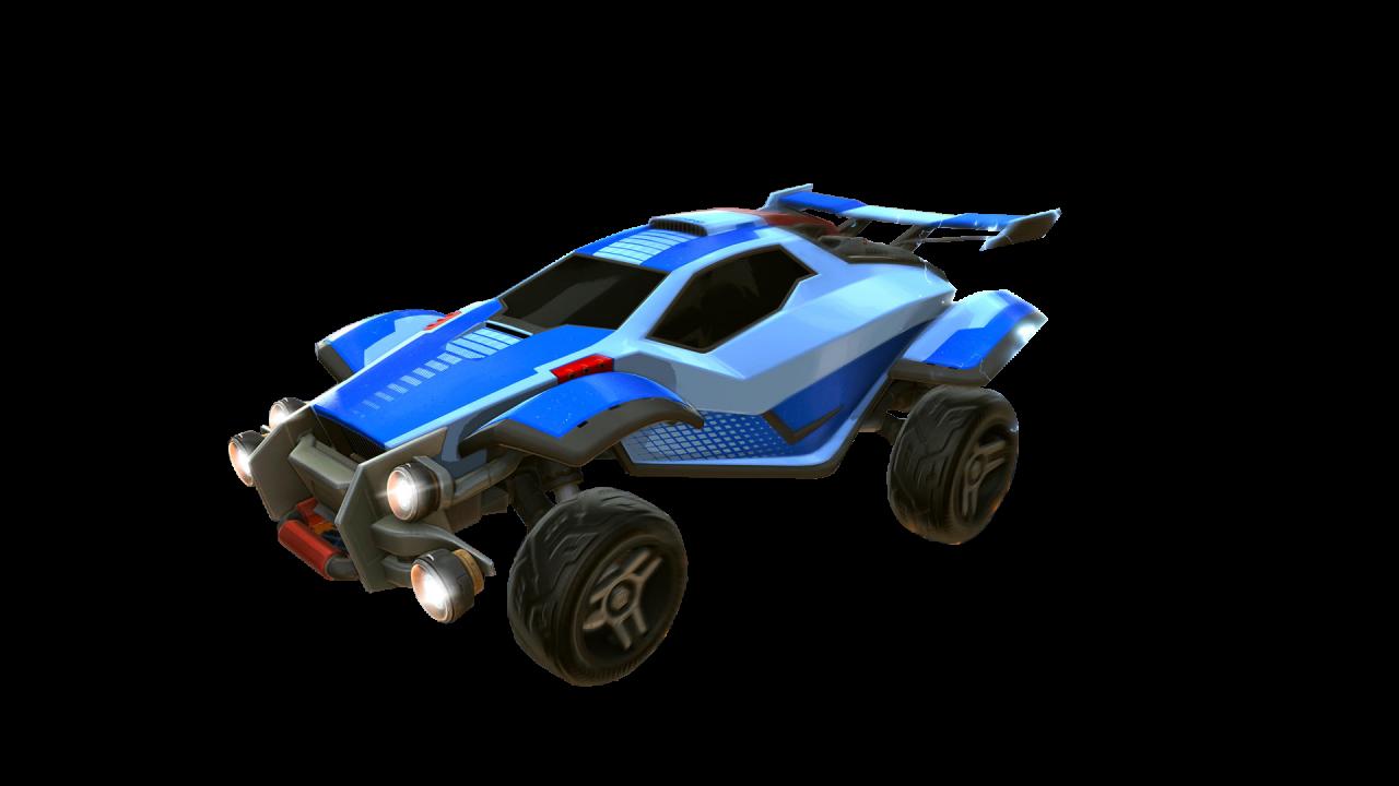 Rocket League Blue Octane PNG Image