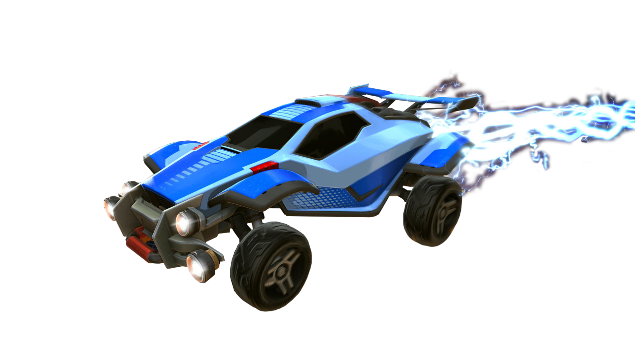 Rocket League Octane With Rays PNG Image